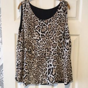 Plus size Chico's reversible top. 3x